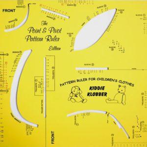 Easy Pattern Making - Make Sewing Patterns - Childrens Pattern Ruler Kit