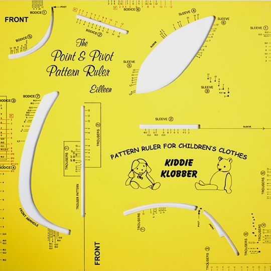 Childrens Pattern Making Ruler Kit - Point & Pivot® Pattern Systems