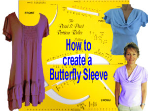 How To Make The Butterfly Sleeve