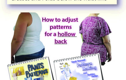 Custom Pattern Making – Jeans Creasing in the Back Waist